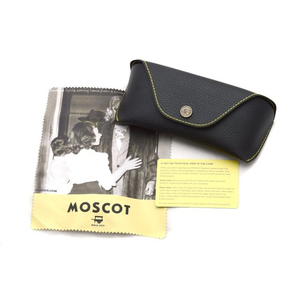 MOSCOT SUN モスコット サングラス CONRAD  MAT/CRYSTAL/SILVER-BROWN マットクリア/シルバー - ダークブラウン偏光サングラス|props-tokyo|08