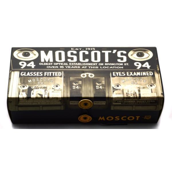 MOSCOT SUN モスコット サングラス CONRAD  MAT/CRYSTAL/SILVER-BROWN マットクリア/シルバー - ダークブラウン偏光サングラス|props-tokyo|09