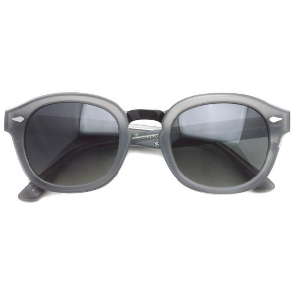 MOSCOT SUN モスコット サングラス CONRAD  MAT/GREY/BLACK-SMOKE マットグレー/ブラックメタル - ダークグレー偏光サングラス|props-tokyo|02