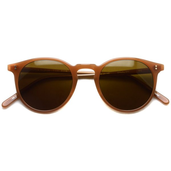 OLIVER PEOPLES THE ROW オリバーピープルズ  ザロウ O'MALLEY NYC  TPZ-BR トパーズピンクブラウン-ブラウンレンズ|props-tokyo|02