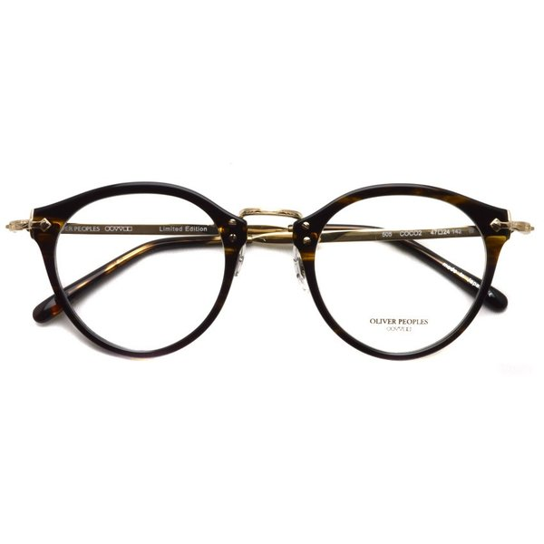OLIVER PEOPLES オリバーピープルズ OP-505  COCO2 べっ甲柄-ゴールド 復刻モデル|props-tokyo|02