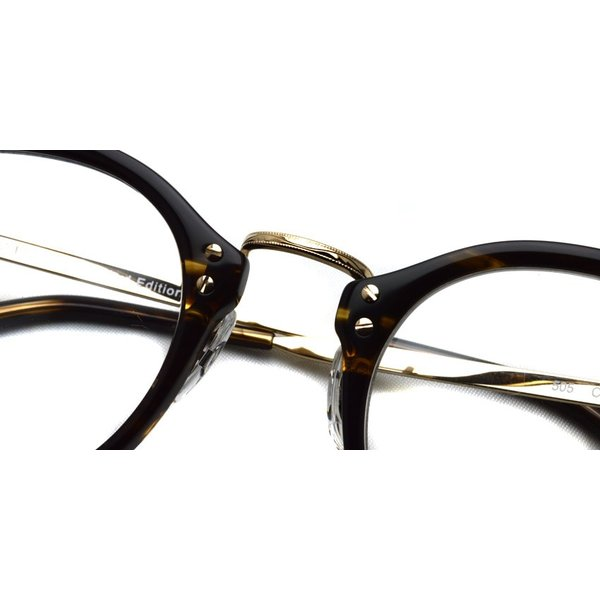 OLIVER PEOPLES オリバーピープルズ OP-505  COCO2 べっ甲柄-ゴールド 復刻モデル|props-tokyo|07