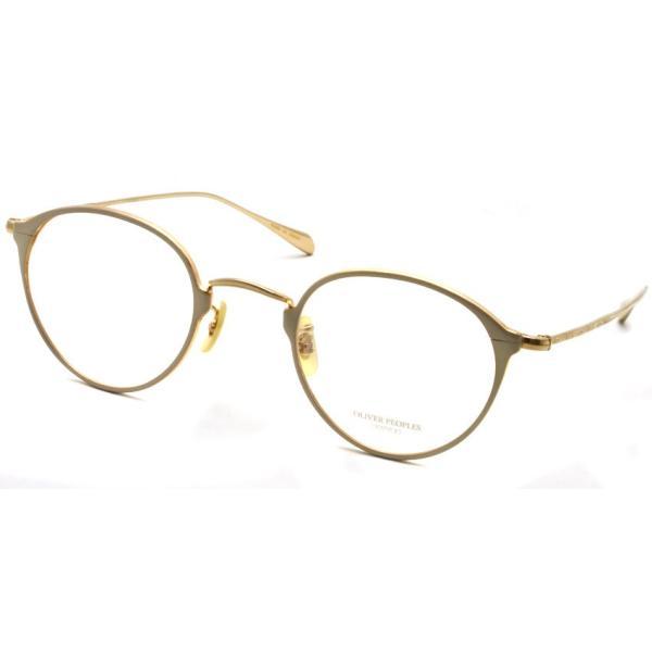 OLIVER PEOPLES オリバーピープルズ DAWSON WHTG ホワイト-ゴールド props-tokyo