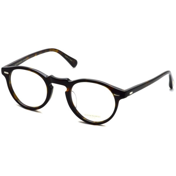 OLIVER PEOPLES オリバーピープルズ GREGORY PECK - J グレゴリーペック 362 べっ甲柄【送料無料】|props-tokyo