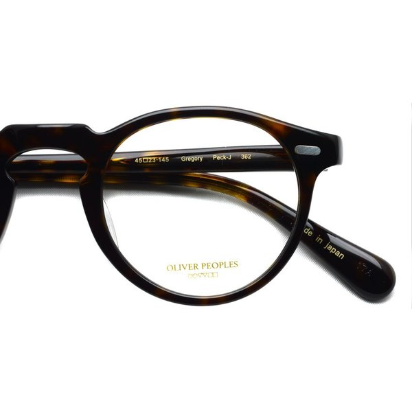 OLIVER PEOPLES オリバーピープルズ GREGORY PECK - J グレゴリーペック 362 べっ甲柄【送料無料】|props-tokyo|04