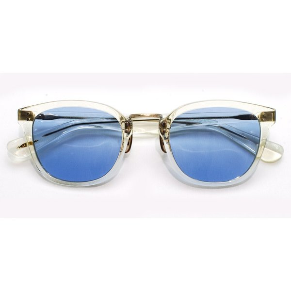 OLIVER PEOPLES オリバーピープルズ HILLERMAN BECR - BLUE  クリア-ブルーレンズサングラス|props-tokyo|02