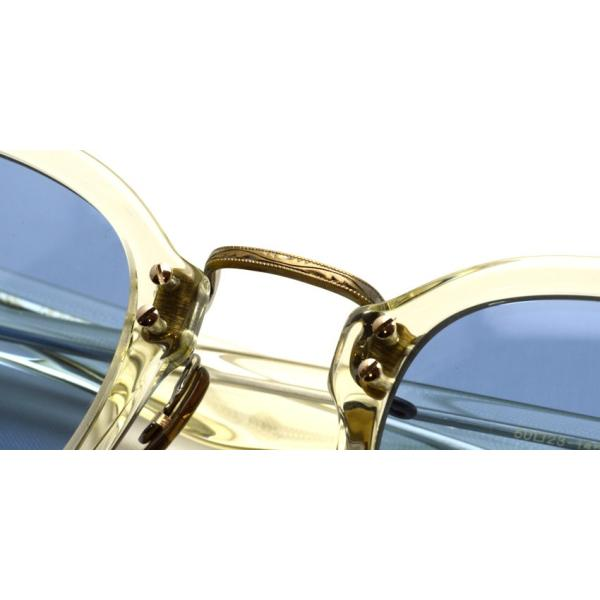 OLIVER PEOPLES オリバーピープルズ HILLERMAN BECR - BLUE  クリア-ブルーレンズサングラス|props-tokyo|04