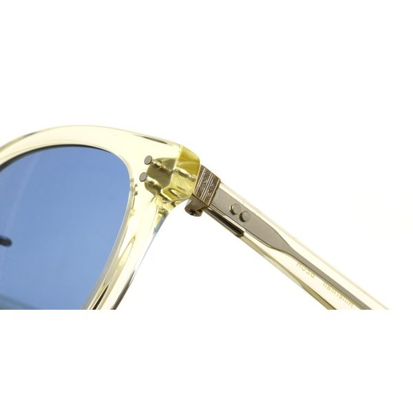OLIVER PEOPLES オリバーピープルズ HILLERMAN BECR - BLUE  クリア-ブルーレンズサングラス|props-tokyo|05