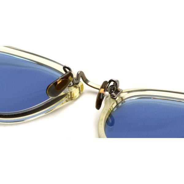 OLIVER PEOPLES オリバーピープルズ HILLERMAN BECR - BLUE  クリア-ブルーレンズサングラス|props-tokyo|06