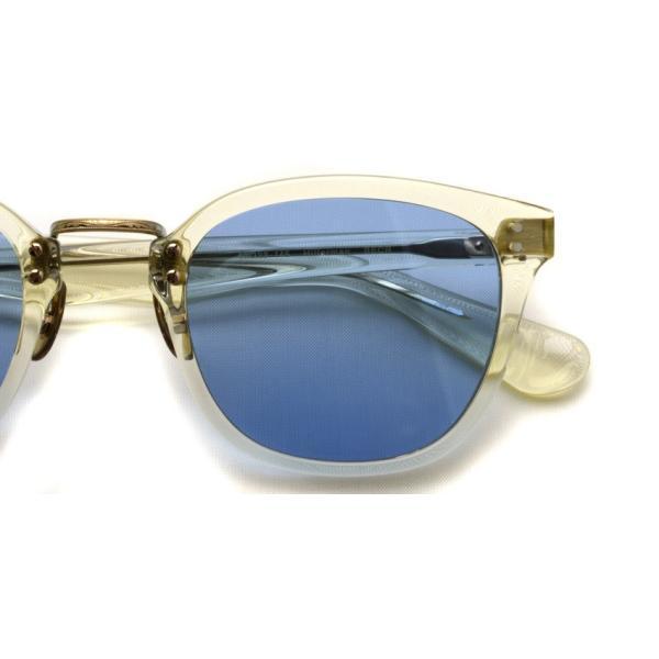 OLIVER PEOPLES オリバーピープルズ HILLERMAN BECR - BLUE  クリア-ブルーレンズサングラス|props-tokyo|07