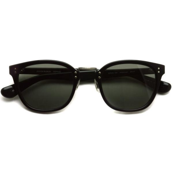 OLIVER PEOPLES オリバーピープルズ HILLERMAN BKP - Grey ブラック/アンティークシルバー-ダークグレーサングラス|props-tokyo|02