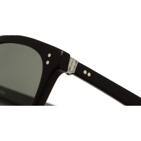 OLIVER PEOPLES オリバーピープルズ HILLERMAN BKP - Grey ブラック/アンティークシルバー-ダークグレーサングラス|props-tokyo|05