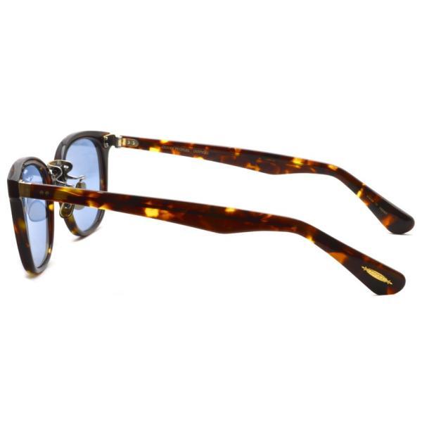 OLIVER PEOPLES オリバーピープルズ HILLERMAN DM2 - BLUE  べっ甲柄-ブルーレンズサングラス|props-tokyo|03