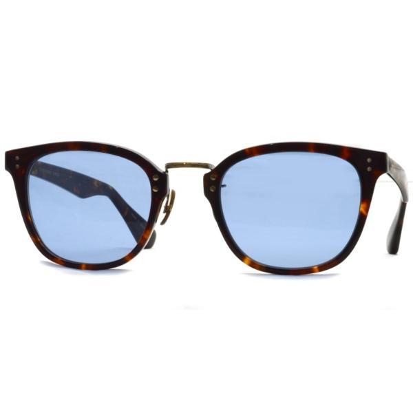 OLIVER PEOPLES オリバーピープルズ HILLERMAN DM2 - BLUE  べっ甲柄-ブルーレンズサングラス|props-tokyo|09