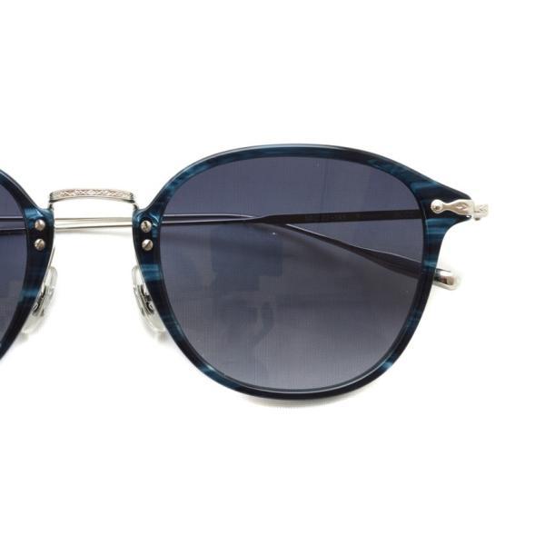 OLIVER PEOPLES オリバーピープルズ KENNER BLCC - Grey W ブルーデミ/シルバー-グレーグラデーション サングラス|props-tokyo|04