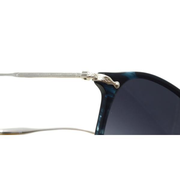 OLIVER PEOPLES オリバーピープルズ KENNER BLCC - Grey W ブルーデミ/シルバー-グレーグラデーション サングラス|props-tokyo|07