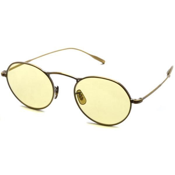OLIVER PEOPLES オリバーピープルズ M-4 SUN  Antique Gold - Yellow WASH  アンティークゴールド - イエローレンズ(ガラスレンズ)|props-tokyo
