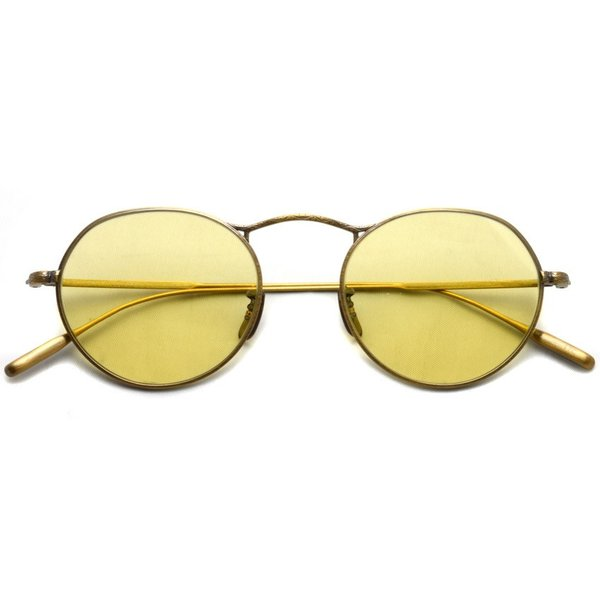 OLIVER PEOPLES オリバーピープルズ M-4 SUN  Antique Gold - Yellow WASH  アンティークゴールド - イエローレンズ(ガラスレンズ)|props-tokyo|02