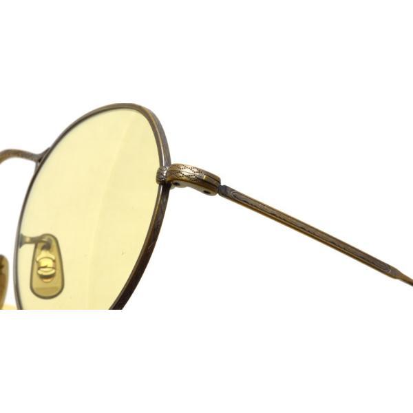 OLIVER PEOPLES オリバーピープルズ M-4 SUN  Antique Gold - Yellow WASH  アンティークゴールド - イエローレンズ(ガラスレンズ)|props-tokyo|04