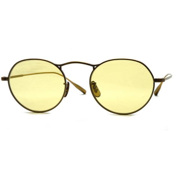 OLIVER PEOPLES オリバーピープルズ M-4 SUN  Antique Gold - Yellow WASH  アンティークゴールド - イエローレンズ(ガラスレンズ)|props-tokyo|06