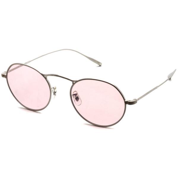 OLIVER PEOPLES オリバーピープルズ M-4 SUN  BC - Pink WASH  マットシルバー - ピンクレンズ(ガラスレンズ)|props-tokyo