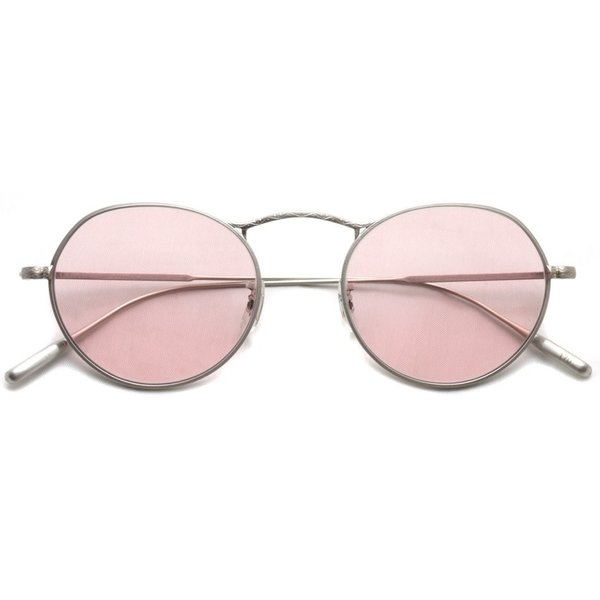 OLIVER PEOPLES オリバーピープルズ M-4 SUN  BC - Pink WASH  マットシルバー - ピンクレンズ(ガラスレンズ)|props-tokyo|02