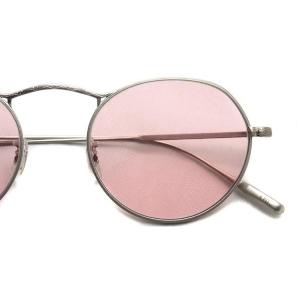 OLIVER PEOPLES オリバーピープルズ M-4 SUN  BC - Pink WASH  マットシルバー - ピンクレンズ(ガラスレンズ)|props-tokyo|05
