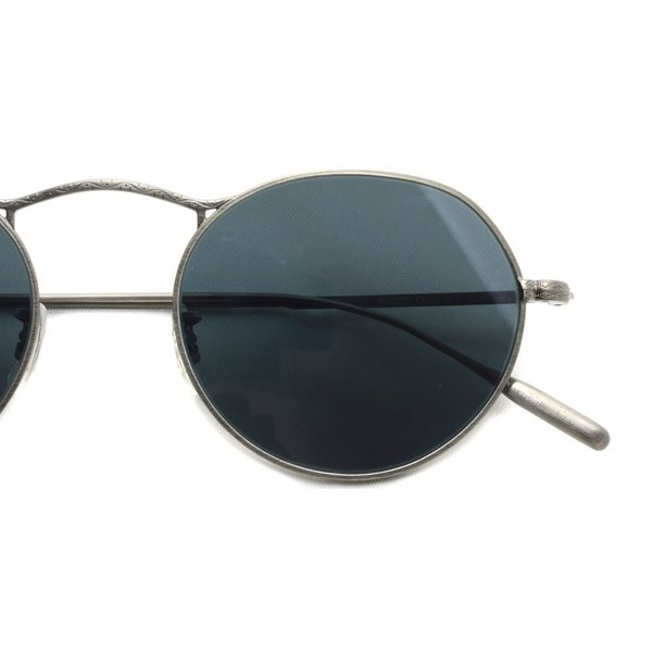 OLIVER PEOPLES オリバーピープルズ M-4 SUN  Pewter - BLUE  アンティークシルバー - ブルーレンズ(ガラスレンズ)|props-tokyo|05