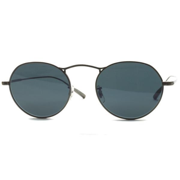 OLIVER PEOPLES オリバーピープルズ M-4 SUN  Pewter - BLUE  アンティークシルバー - ブルーレンズ(ガラスレンズ)|props-tokyo|06