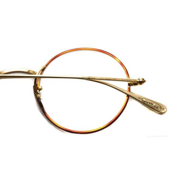 OLIVER PEOPLES オリバーピープルズ MCCLORY-C  G  ライトトータス-ゴールド  ラウンド 丸メガネ フレーム|props-tokyo|04