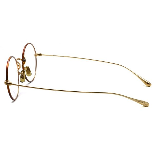 OLIVER PEOPLES オリバーピープルズ MCCLORY-C  G  ライトトータス-ゴールド  ラウンド 丸メガネ フレーム|props-tokyo|06