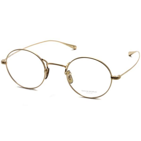 OLIVER PEOPLES オリバーピープルズ MCCLORY Gold ゴールド ラウンド 丸メガネ フレーム【送料無料】 props-tokyo