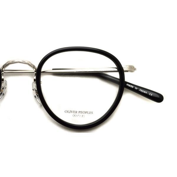 OLIVER PEOPLES オリバーピープルズ MP-2 BK / S ブラック-シルバー 復刻モデル|props-tokyo|06