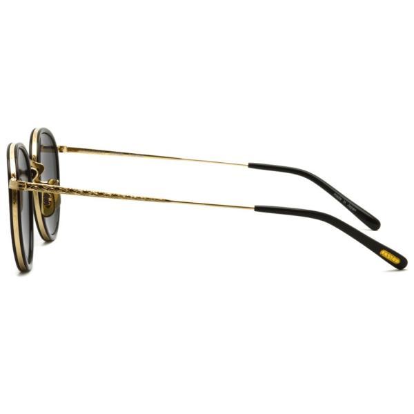 OLIVER PEOPLES オリバーピープルズ MP-2 Sun BK/GRY Polar ブラック / ゴールド / グレー偏光レンズ|props-tokyo|03