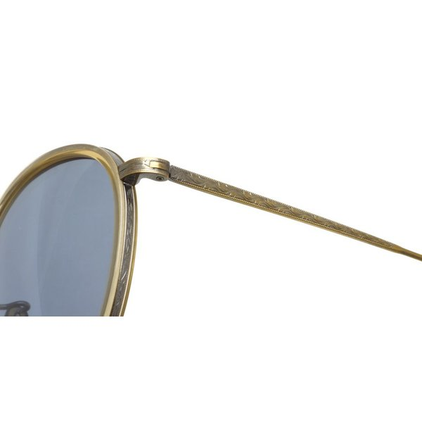 OLIVER PEOPLES オリバーピープルズ MP-2 Sun SLB/Light Bule Polar アンティークゴールド/クリア-ライトブルー偏光レンズ|props-tokyo|07