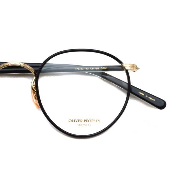 OLIVER PEOPLES オリバーピープルズ OP-78R G/BK ブラック-ゴールド|props-tokyo|03