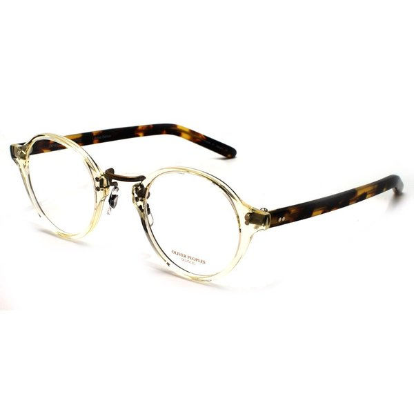 OLIVER PEOPLES オリバーピープルズ メガネ OP-1955 BECR / DTB クリア-べっ甲柄 雅 復刻モデル props-tokyo