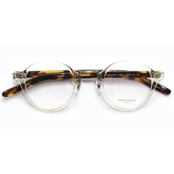 OLIVER PEOPLES オリバーピープルズ メガネ OP-1955 BECR / DTB クリア-べっ甲柄 雅 復刻モデル props-tokyo 02