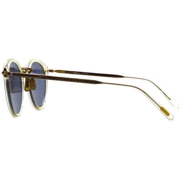 OLIVER PEOPLES オリバーピープルズ OP-505 Sun BECR/ Light Blue Polar クリア / ゴールド / ライトブルー偏光レンズ サングラス|props-tokyo|03
