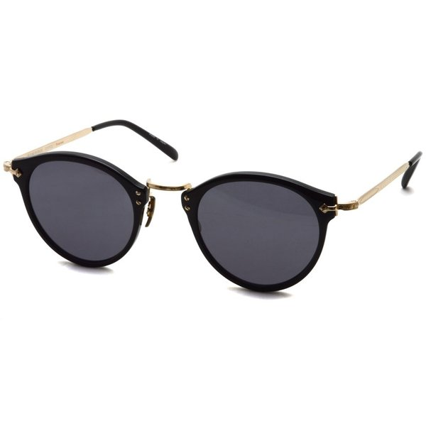 OLIVER PEOPLES オリバーピープルズ OP-505 Sun BK/GRY Polar ブラック / ゴールド / グレー偏光レンズ サングラス|props-tokyo