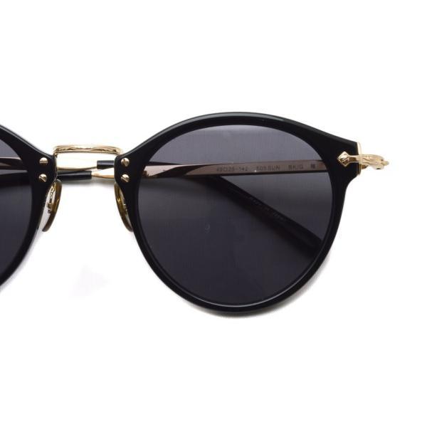 OLIVER PEOPLES オリバーピープルズ OP-505 Sun BK/GRY Polar ブラック / ゴールド / グレー偏光レンズ サングラス|props-tokyo|04