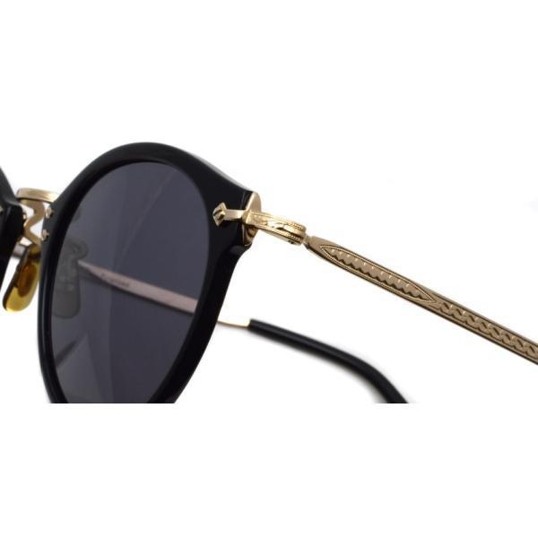 OLIVER PEOPLES オリバーピープルズ OP-505 Sun BK/GRY Polar ブラック / ゴールド / グレー偏光レンズ サングラス|props-tokyo|05