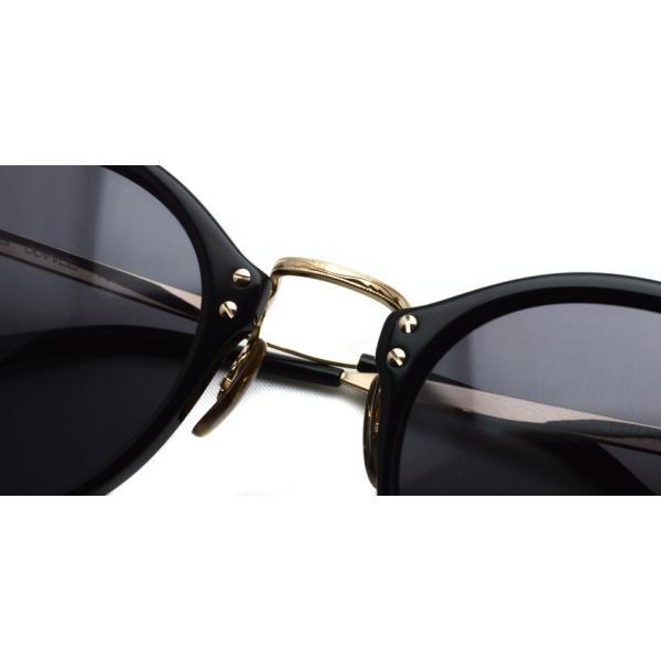 OLIVER PEOPLES オリバーピープルズ OP-505 Sun BK/GRY Polar ブラック / ゴールド / グレー偏光レンズ サングラス|props-tokyo|06