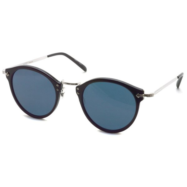 OLIVER PEOPLES オリバーピープルズ OP-505 Sun BKS/BLUE Polar ブラック / シルバー / ブルー偏光レンズ サングラス|props-tokyo