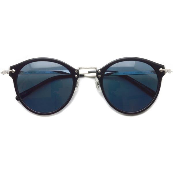 OLIVER PEOPLES オリバーピープルズ OP-505 Sun BKS/BLUE Polar ブラック / シルバー / ブルー偏光レンズ サングラス|props-tokyo|02