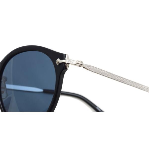 OLIVER PEOPLES オリバーピープルズ OP-505 Sun BKS/BLUE Polar ブラック / シルバー / ブルー偏光レンズ サングラス|props-tokyo|06
