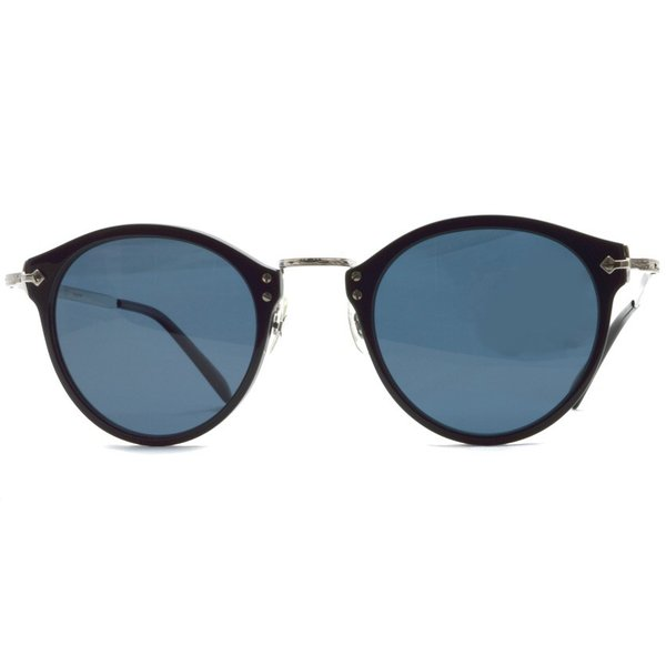 OLIVER PEOPLES オリバーピープルズ OP-505 Sun BKS/BLUE Polar ブラック / シルバー / ブルー偏光レンズ サングラス|props-tokyo|08