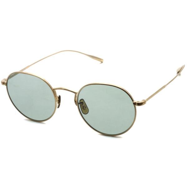 OLIVER PEOPLES オリバーピープルズ ROSSEN  Gold - Green Wash  ゴールド - ライトグリーンレンズ(ガラスレンズ)|props-tokyo