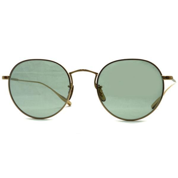 OLIVER PEOPLES オリバーピープルズ ROSSEN  Gold - Green Wash  ゴールド - ライトグリーンレンズ(ガラスレンズ)|props-tokyo|04