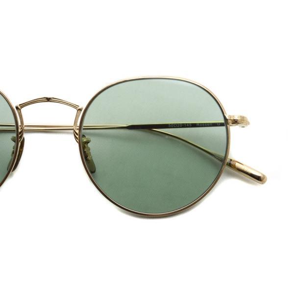 OLIVER PEOPLES オリバーピープルズ ROSSEN  Gold - Green Wash  ゴールド - ライトグリーンレンズ(ガラスレンズ)|props-tokyo|05